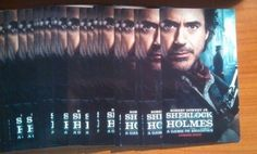 Sherlock Holmes Game of Shadows Robert Downey Jr Promo Deck Cards Tarot