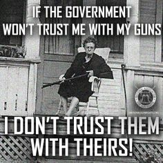 I don't trust the Government with anything