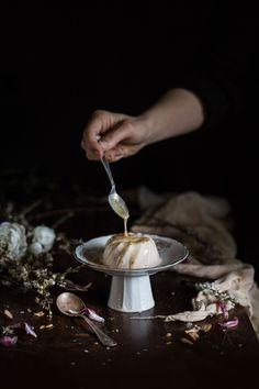 Blood Orange Yogurt Szechuan Pudding | Hortus Natural Cooking