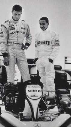Recognise these two ex-McLaren drivers? Yes, it's DC and a very young Lewis Hamilton!