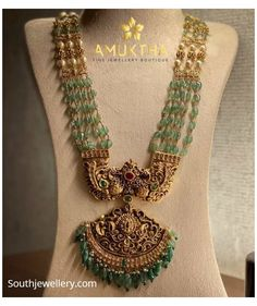 Pearl Necklace Designs, Jewelry Design Earrings, Bead Jewellery, Gold Necklace, Chain Earrings, Pendant Jewelry, Gold Bangles Design, Gold Jewellery Design, Gold Jewelry