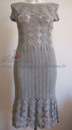 Crochet dress No pattern.