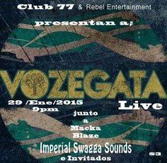 Vozegata / Imperial Swagga @ Club 77, Río Piedras #sondeaquipr #vozegata #imperialswagga #club77 #riopiedras #sanjuan