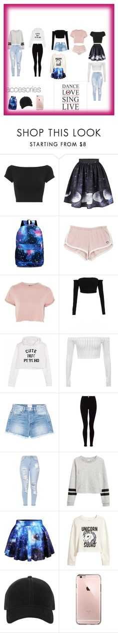 """looks"" by herrerialaesperanza on Polyvore featuring moda, Helmut Lang, Topshop, Frame, Lipsy, WithChic, H&M, rag & bone y fashionset"