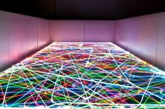 Geek Alert! Psychedelic Led Light Paintings Created By Roomba Robot Vacuums | Inhabitat - Sustainable Design Innovation, Eco Architecture, Green Building