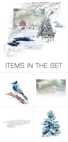 """Winter is . . . Wild & Beautiful"" by quicherz on Polyvore featuring art"