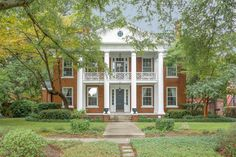 This distinguished South Carolina house is extensively renovated and ready for a family to make it a home.