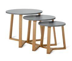 Odkladacie stolíky, 3 ks 349887 z e-shopu Tchibo.sk