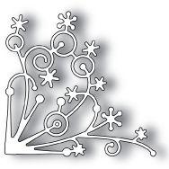 *Memory Box SNOWFLAKE CORNER Craft DIE 98238