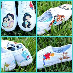 Disney's Aladdin, themed shoes..do they have Beauty and the Beast ones?