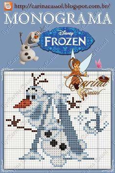 Monograma Frozen