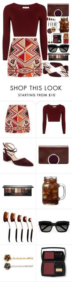 """""""TIC TAC // itsybitsy62"""" by itsybitsy62 ❤ liked on Polyvore featuring Topshop, Kensie, Chloé, Smashbox, Yves Saint Laurent, Marc Jacobs and Lancôme"""