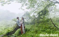8 Magical photos from Gu Hye Sung and Ahn Jae Hyun's Jeju Island wedding pictorial