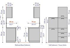 Upper Kitchen Cabinets Standard Height Design