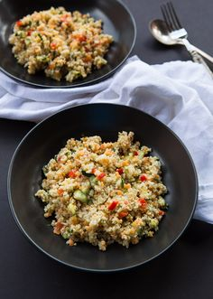Costco quinoa salad - can't walk out of the store without it, but now I can copycat it.