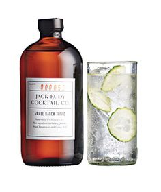 Graduation: Artisanal Tonic from Jack Rudy Cocktail Co.