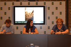 Con Andrea y Helen, mi maravillosa, encantadora, divertida y perfectisima presentadora :D