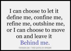 Move on, leave it behind #divorce #fb  @sassydivorcee thinks Like A Diva!