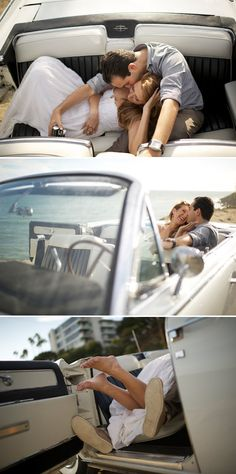 loveeee the bottom picture so much! Oh gosh doing this in Nathan's moms mustang! And its even blue to go with my colors