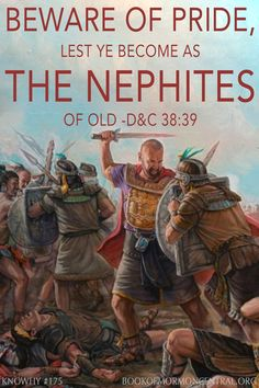 """The Nephites quickly became their own worst enemies by allowing their spiritual successes, military victories, and material gains to grow into unchecked pride and soon into outright contention. This should warn all modern followers of Christ to be careful not to slip into an attitude of """"all is well in Zion"""".  https://knowhy.bookofmormoncentral.org/content/how-did-the-nephites-become-weak-in-such-a-short-time #Pride #Riches #Wealth #BookofMormon #LDS #Faith #Mormon"""