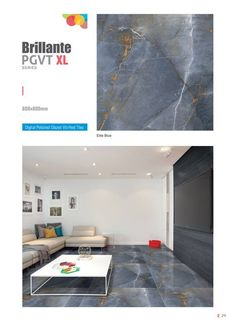Elite #Blue - Millennium Tiles 800x800mm (32x32) Digital PGVT XL #Porcelain Tiles Series  - Digital #Floor #Tiles: Digital tiles will have a single coat of pigment nearly 1or 2 mm. It is not suitable for heavy traffic. As the name suggests, any design can be printed on this types of tiles or U can even customize the design of tile with your photo or any picture.