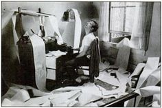 Jack Kerouac Desk - Nearly finished? Lost in spools. The draft of Jack Kerouac's Beat-defining phenomenon 'On the Road' appeared to the world in April 1951 as a single 36 metre (120-foot) role of paper.