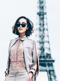 Love her outfit 20 Bloggers Who Have Been in the Business the Longest via @WhoWhatWearUK