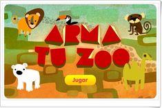 """""""Arma tu zoo"""" (Juego de Medio Físico de Educación Infantil)"""