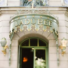 Paris Photograph, Laduree Shop Sign, Macarons, Mint, Pistachio, Green, Pastel, Romantic, Feminine - Sugar, Sugar. $15.00, via Etsy.