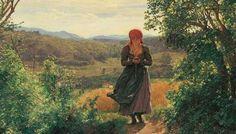 In+un+dipinto+del+1850+c'è+una+donna+che+usa+uno+smartphone