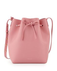 Calf+Leather+Bucket+Bag+by+Mansur+Gavriel+at+Bergdorf+Goodman.