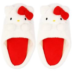 Hello Kitty slippers! ♪(*^^)o∀*∀o(^^*)♪