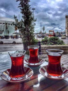 Karaköy Great Coffee, Coffee Time, Tea Time, Turkish Coffee, Istanbul Turkey, V60 Coffee, Tea Mugs, Drinking Tea, Alcoholic Drinks