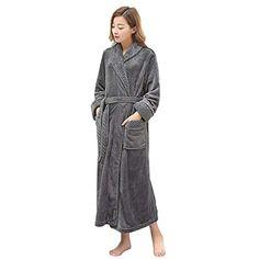 6a166a2be4461 PUTUO Peignoir de Bain Femme Peignoir en Eponge Microfibre Femme Robe de  Chambre Longue #peignoirs