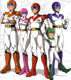 The Voltron Lion Command Team