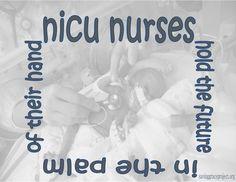 NICU Nurses hold the future in the palm of their hand.  Celebrating National NICU Nurses Day, Sunday September 15th, 2013. #NICU #nicunursesday #preemie