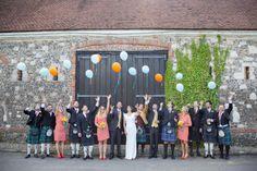 wedding balloon release http://www.ifocusphotography.co.uk/