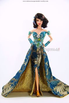 Elegant and High Fashion in Kebaya Barbie Doll