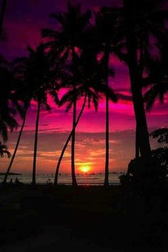 Sunset, Costa Rica.