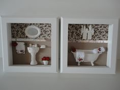 Quadro para lavabo, com fundo em tecido 100% algodão, com peças em resina e flores secas.