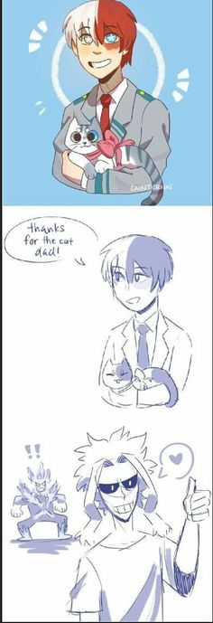 Boku No Hero Academia Funny, My Hero Academia Shouto, My Hero Academia Episodes, Hero Academia Characters, 5 Anime, Anime Guys, Anime Meme, Familia Anime, Anime Lindo