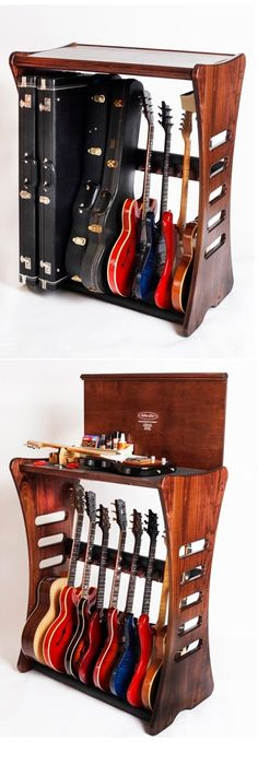 Why spend money you dont have to diy woodworking decor multifunction all-in-one guitar stand