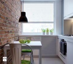 Jak urządzić małą kuchnię w bloku? Zobacz sprytne rozwiązania - Homebook.pl