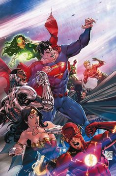 "DC COMICS (W) Bryan Hitch (A) Matthew Clark, Sean Parsons (CA) Tony S. Daniel ""STATE OF FEAR"" part one! Following a harrowing battle with a monster from beyond the stars, Green Lantern Jessica Cruz de"
