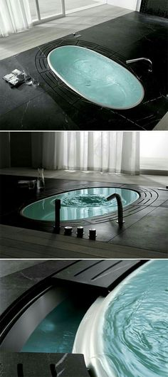 Top Amazing Modern Gothic Interior Design Ideas and Decor Pictures) example . - Decoration Fireplace Garden art ideas Home accessories Sunken Tub, Gothic Interior, Diy Interior, Modern House Interior Design, Modern Design, Luxury Interior, Modern Gothic, Gothic Home, Modern Luxury