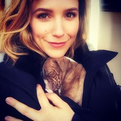 Pin for Later: 31 Celebrities Who Are Just as Obsessed With Animals as You Are Sophia Bush