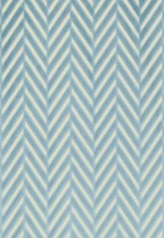 Regent Velvet Herringbone  Aqua