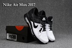 2713f5ea10e27b Nike Air Max 2017.3 Black White Men(40-47) Running Trainers