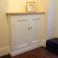 a Victorian alcove cupboard (part 1 A rough guide to building a DIY Victorian style alcove cupboard Hallway Cupboards, Alcove Cupboards, Diy Cupboards, Built In Cupboards, Hallway Cabinet, Alcove Storage, Alcove Shelving, Window Seat Storage, Alcove Ideas Living Room