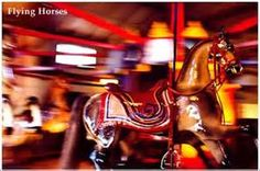 The Flying Horses Carousel on Martha's Vineyard as featured in A Dream for Love by Lisa Belcastro